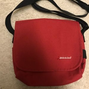 Dickies Red Mini Crossbody Bag